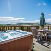 Barn Lodge with Hot Tub near Cupar Fife