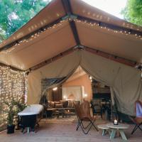 Castlemaine Gardens Luxury Safari Tents, hotel em Castlemaine