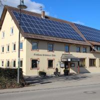 Schwarzer Adler, hotel in zona Aeroporto di Memmingen - FMM, Schwaighausen