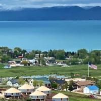 OsoBlu Bear Lake Luxury Yurts, hotel in Garden City