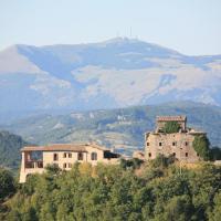 Agriturismo Monte Valentino, hotell i Pietralunga