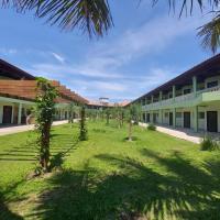 Lindo apartamento em Frente ao mar na Ilha Comprida, отель в городе Валиньюс