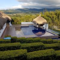 finca techos de paja, hotel in Dapa