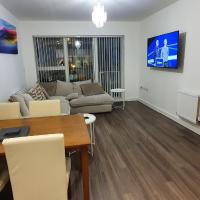 Sterling River view Apartment, Greenhithe 4 with Netflix & Spotify