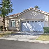 Home on Golf Course with Pool&Spa - 2 Mi to Coachella, hotel in Indio