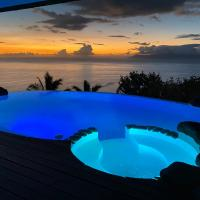 Mata Miti Villa Paradise Tahiti, отель в Пунаауйе