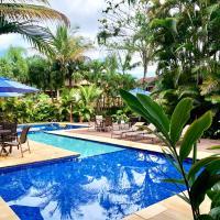 Casa Linda com Piscina e Wi-Fi, pertinho da Praia, hotel em São Sebastião