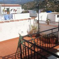 House with 4 bedrooms in Torrox with wonderful mountain view furnished terrace and WiFi 3 km from the beach
