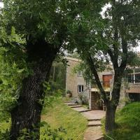 Rustic Mansion in San Baudilio de Llusanés near Forest