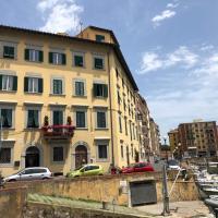 Renovierte 4 Zi-Wohnung in Palazzo aus dem 17. Jhrh zwischen Zentrum und Hafen von Livorno