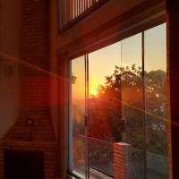 Casa na serra da cantareira com lazer e pôr do sol