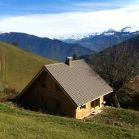 Chalet de 4 chambres a Les Avanchers Valmorel avec magnifique vue sur la montagne et jardin amenage a 7 km des pistes