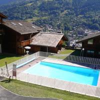 Appartement d'une chambre a Saint Gervais les Bains avec magnifique vue sur la montagne piscine partagee et balcon