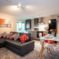 Large 2 Bed Modern Bright Apartment - Sleeps upto6