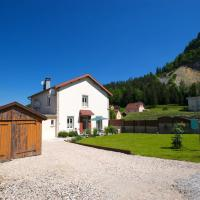 House with 2 bedrooms in Villard Saint Sauveur with wonderful mountain view and enclosed garden 19 km from the slopes