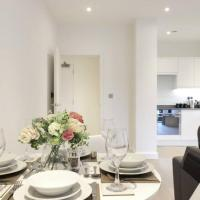 Luxury 1 Bed Flat in St Albans, Modern, WiFi, Six Minutes from Train Station