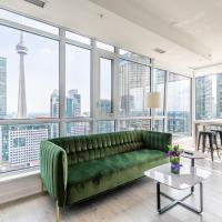 Luxury 2 BR in the heart of Entertainment District w/ CN Tower View
