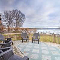 Pickerel Lake Retreat with Grill, 15 Mi to Ski!, hotel in Petoskey
