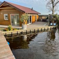 Vakantie huis aan het water
