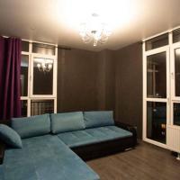 Квартира с террасой и панорамными окнами в ванной