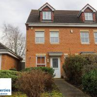 Syster Properties Serviced Accommodation Leicester - 3 bedroom Welcoming Home