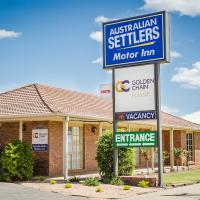 Australian Settlers Motor Inn, hotel in Swan Hill