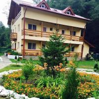 Pensiunea La Padure Cheia, Prahova、Măneciuのホテル