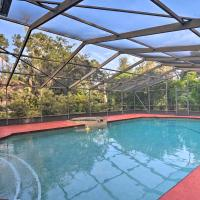 Sarasota Home with Outdoor Oasis 4 Mi to Shore!