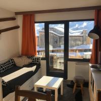 Avoriaz balcon sud skis aux pieds