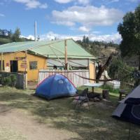 Zona de camping Alto de Las Rocas