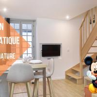 FREE Parking - Self Checkin Automatique - 9 min Disney - LE MICKEY - COSYRENTING, hotel in Villeneuve-le-Comte