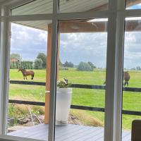 Studio with beautiful views and near Amsterdam, hotel in Hillegom