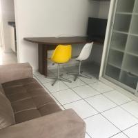 Apartamento confortável bem no centro de Floripa