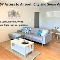 Great Value Close to Airport and Shops Free Wifi Netflix Wine, hotel in Perth