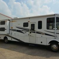 Air Conditioned Damon RV in secure coach yard