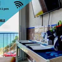 """Studio """"Les Roches blanches"""" - Vue mer & Vignes, hotel in Banyuls-sur-Mer"""