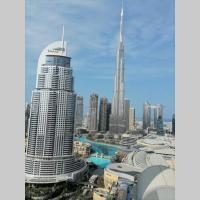 Full Burj Khalifa & Fountain View 1BR apt The Address