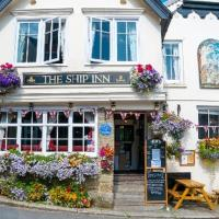 The Ship Inn Fowey, отель в городе Фоуи