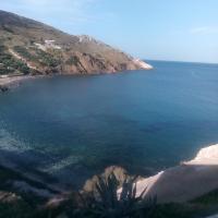 Balcony to Aegeon 1, hotell i Apollon