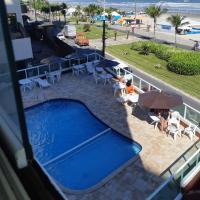 Frente mar piscina churrasqueira wifi garagem portaria 24hs