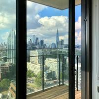 Luxury 1 Bed Central London Apartments with City of London views