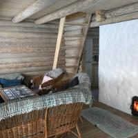 Romantic stay at loghouse VäikeTeeMaja, hotelli kohteessa Üksnurme