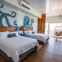 Amaka Ocean Living Lodge, hotel en Golfito