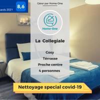 La collegiale- Home-One, hotel in Dole