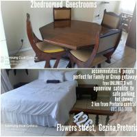 2bedroomed apartment for family/group, Pretoria