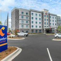 Comfort Suites Greenville Airport, hotel near Greenville-Spartanburg International Airport - GSP, Greenville