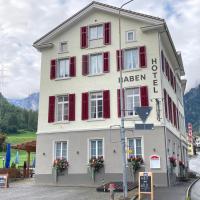 Hotel Restaurant Raben, отель в городе Linthal