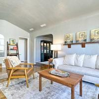New! El Paso Home with Backyard & Outdoor Fireplace!