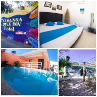 Taganga Dive Inn, hotel en Taganga
