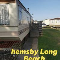 Hemsby long beach caravan